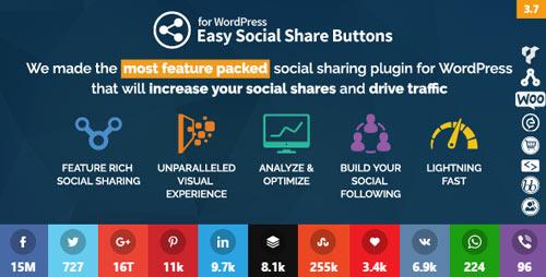 Easy Social Share Buttons for WordPress v3.7