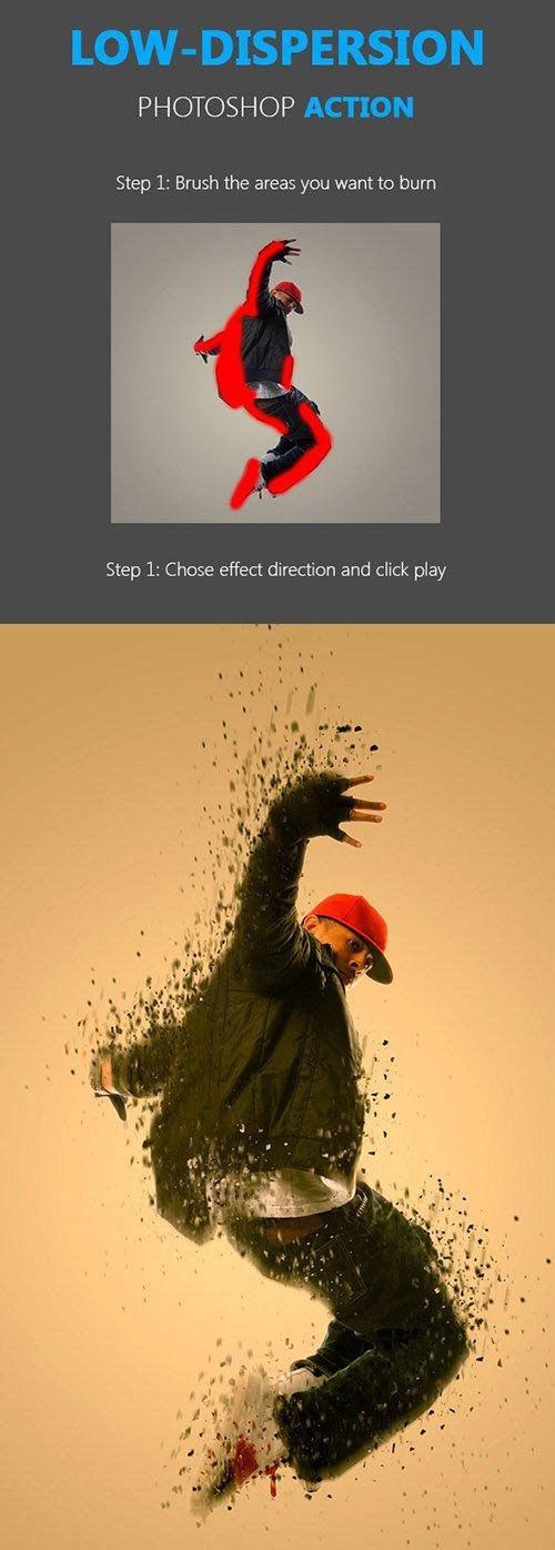 Low Dispersion Photoshop Action
