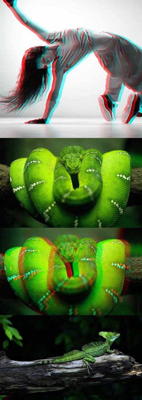 3D Photoshop Actions