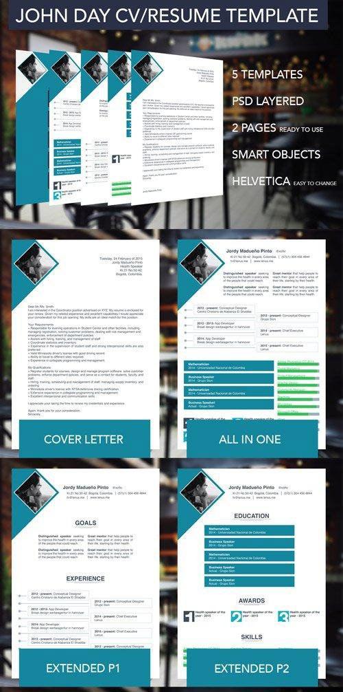 5 Multipurpose Resume/CV Templates