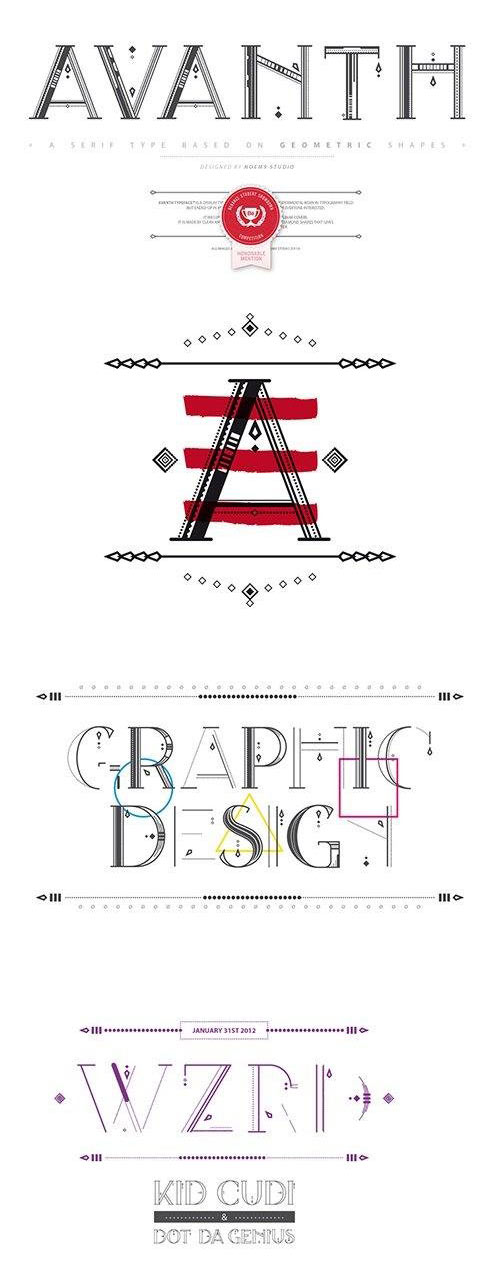 Avanth Font Family - otf