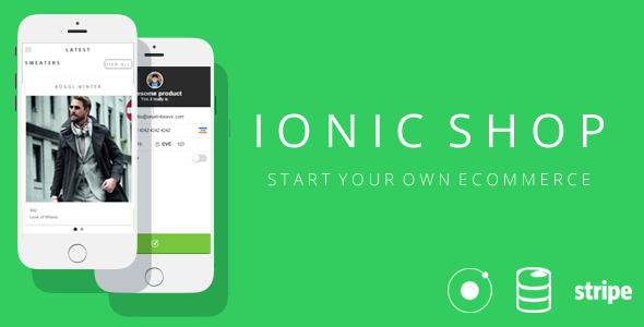 Ionic Shop - Start Your Own Ecommerce