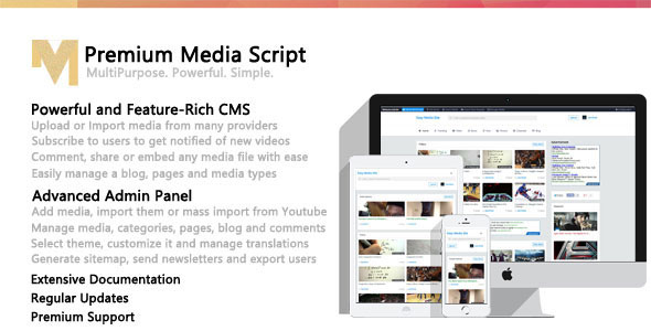 Premium Media Script v1.5.1.1