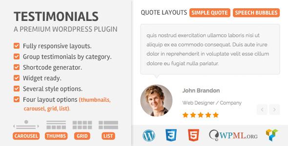 Nulled Testimoonials WordPress Plugin v2.2 product photo