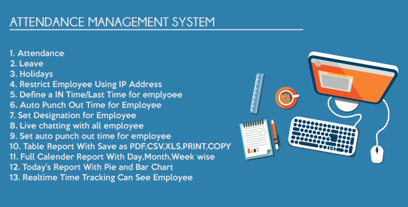 Timesheet Attendance Management System v4.3
