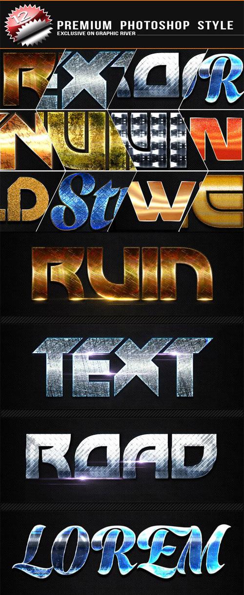 12 Premium Text Effect v2