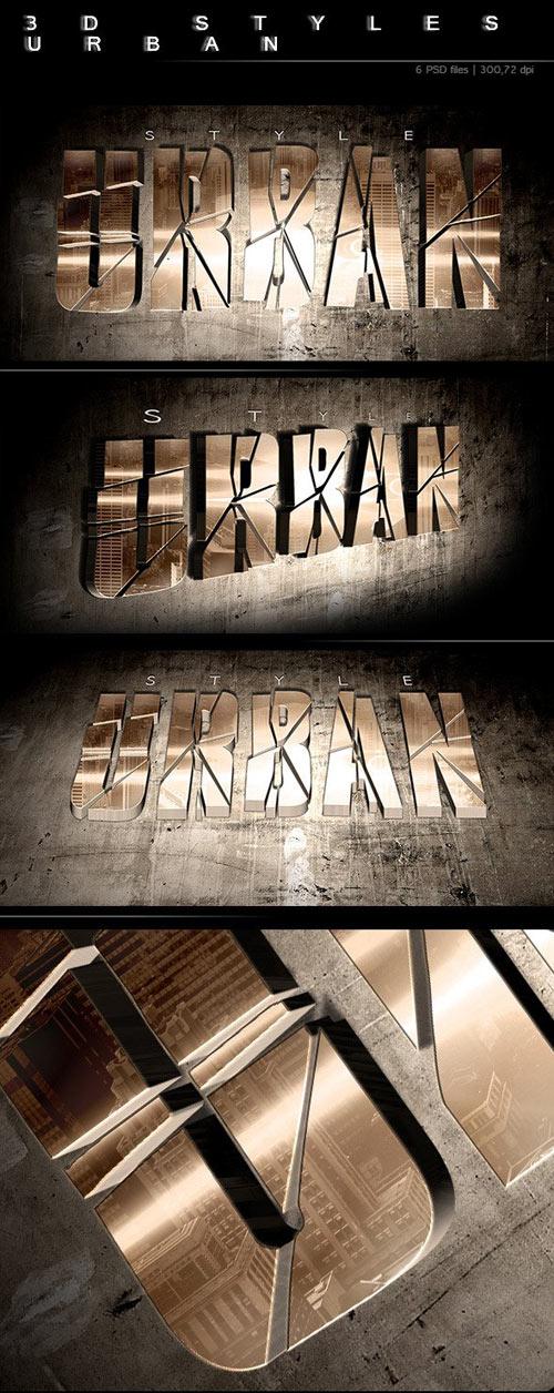 3D Urban Style 1031624