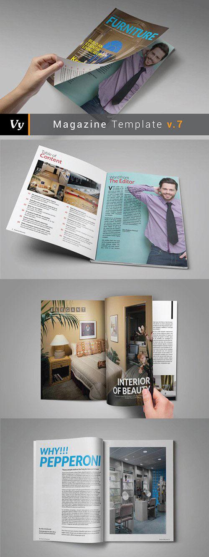 Furniture Magazine Template