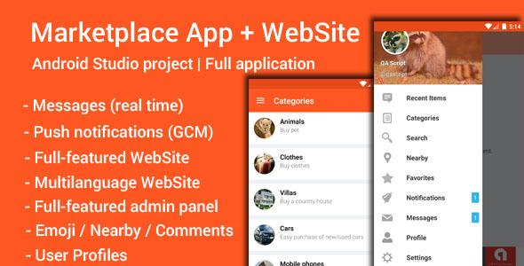 My Marketplace - Marketplace App + Website