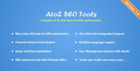 AtoZ SEO Tools v1.6 - Search Engine Optimization Tools
