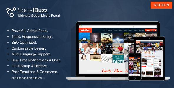SocialBuzz v1.4 - Ultimate Social Media Portal