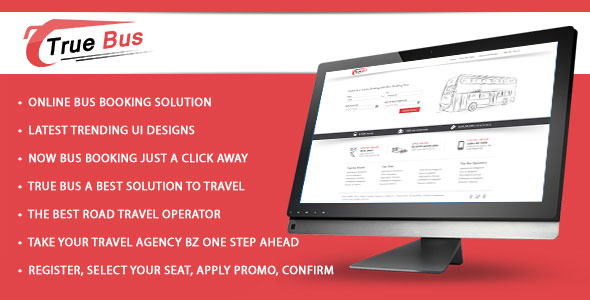 True Bus - Online Bus Booking