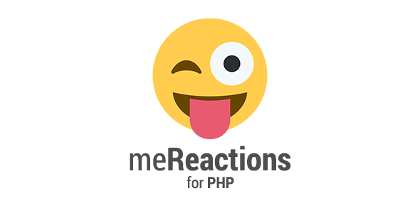 meReactions - Reactions System for PHP