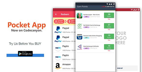 POCKET - Android Rewards App