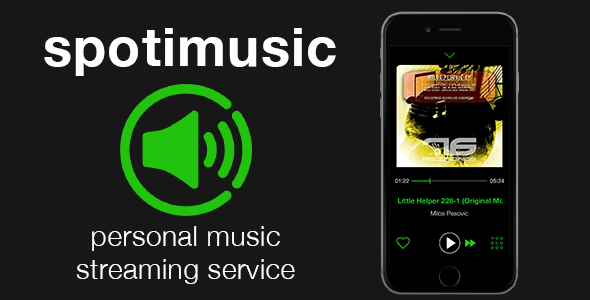 Spotimusic - personal streaming music service