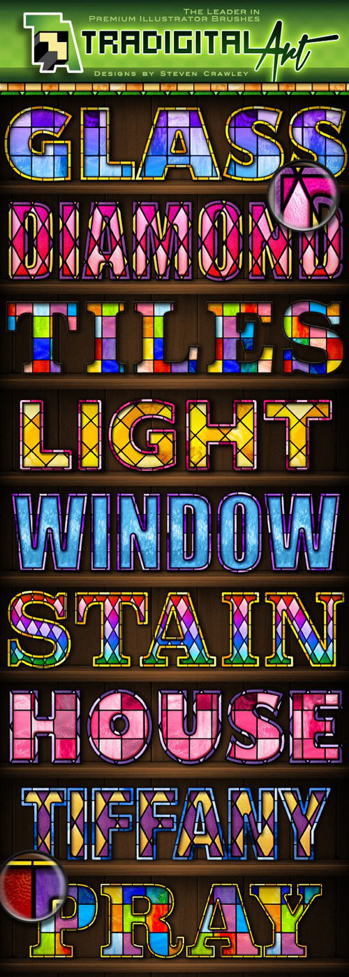 Stained Glass PS Styles