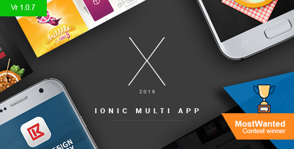 X App - Hand-crafted multiple ionic apps with Laravel backend